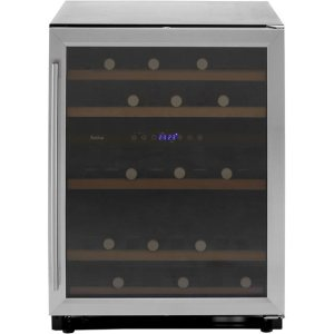 Amica AWC600SS Free Standing Wine Cooler in Stainless Steel