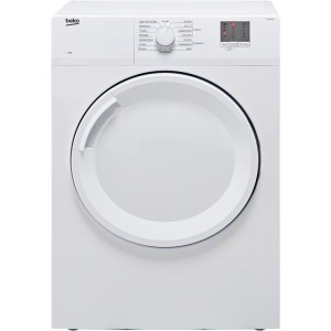 Beko DTGV8000W Free Standing Vented Tumble Dryer in White