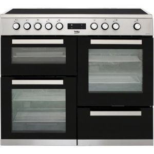 Beko KDVC100X Free Standing Range Cooker in Stainless Steel