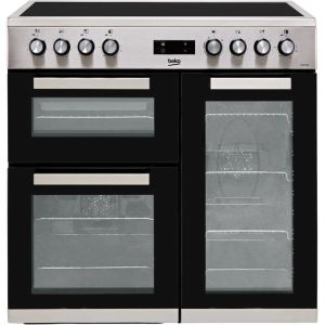 Beko KDVC90X Free Standing Range Cooker in Stainless Steel