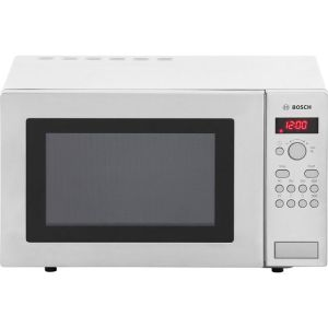 Bosch HMT84M451B Free Standing Microwave Oven in Brushed Steel