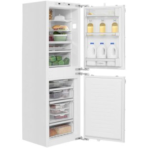 Bosch Serie 6 KIN85AF30G Integrated Fridge Freezer Frost Free in White