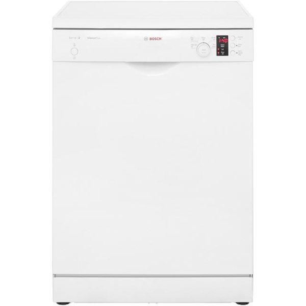 Bosch Serie 2 SMS25EW00G Free Standing Dishwasher in White