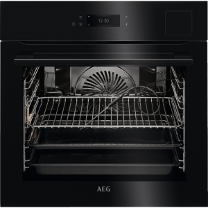 AEG BSK798380B Integrated Single Oven in Black