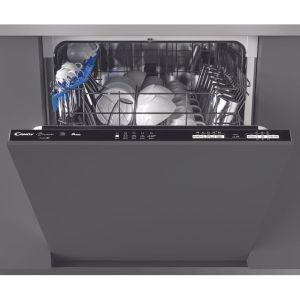 Candy Brava CDIN1L380PB Integrated Dishwasher in Black
