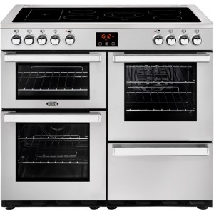 Belling Cookcentre100E Prof Free Standing Range Cooker in Stainless Steel