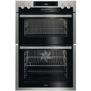 AEG DCS431110M Integrated Double Oven in Stainless Steel