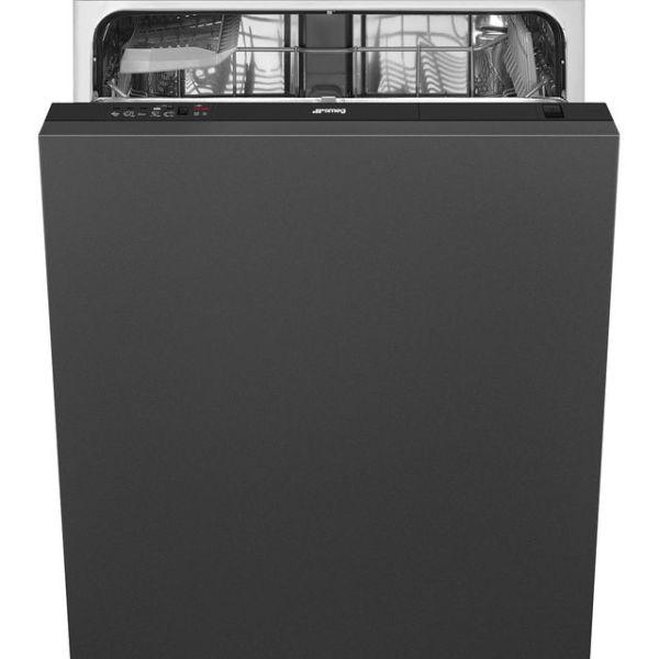 Smeg DI612E1 Integrated Dishwasher in Black