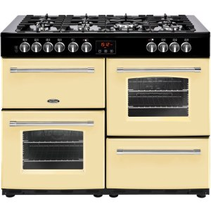 Belling Farmhouse110DF Free Standing Range Cooker in Cream