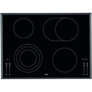 AEG HK764070FB Integrated Electric Hob in Black