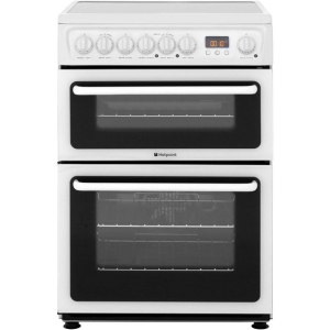 Hotpoint Newstyle HAE60PS Free Standing Cooker in White
