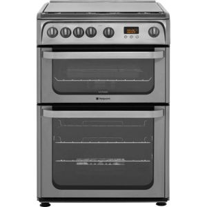Hotpoint Ultima HUG61X Free Standing Cooker in Stainless Steel