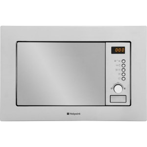 Hotpoint MWH122.1X Integrated Microwave Oven in Stainless Steel