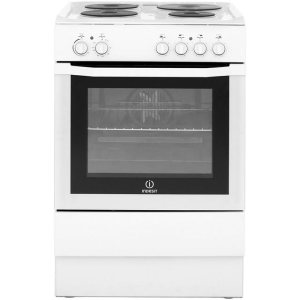 Indesit I6EVAW Free Standing Cooker in White