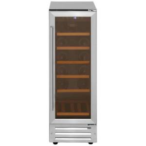 Belling Unbranded 300SSWCMK2 Integrated Wine Cooler in Stainless Steel