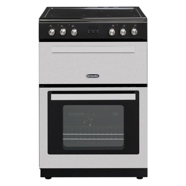 Montpellier RMC61CX Free Standing Cooker in Stainless Steel