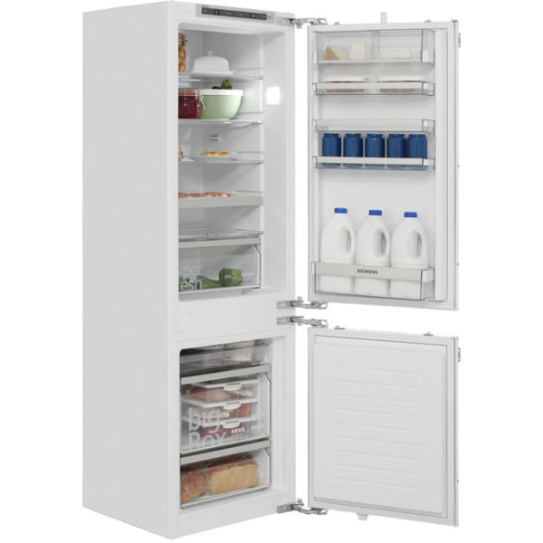 Siemens IQ-500 KI86SAF30G Integrated Fridge Freezer in White