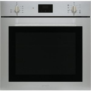 Smeg Cucina SF6400TVX Integrated Single Oven in Stainless Steel
