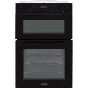 Stoves ST BI902MFCT Integrated Double Oven in Black