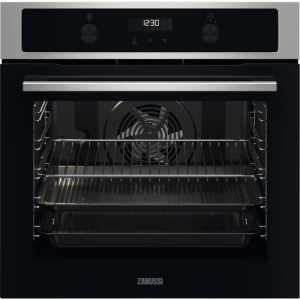 Zanussi ZOPNA7X1 Integrated Single Oven in Stainless Steel