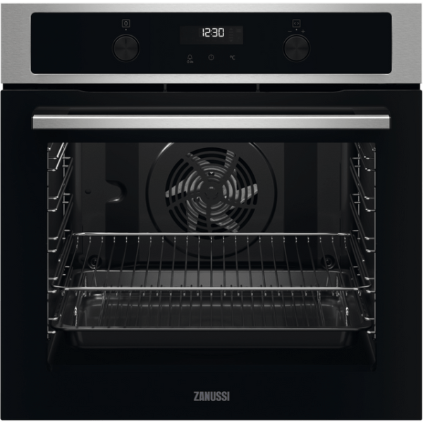 Zanussi ZOPND7X1 Integrated Single Oven in Stainless Steel