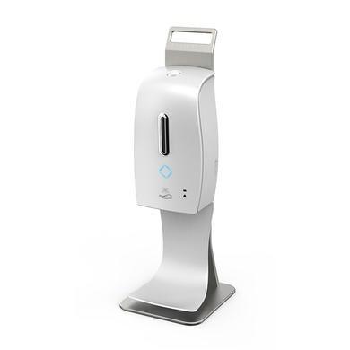 Hygiene Tech Automatic hand sanitiser desk standing