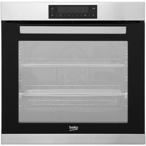 Beko BIM32400XP Built In Electric Single Oven - Stainless Steel - A Rated