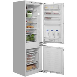 Bosch Serie 8 KIN86AD30G Integrated 60/40 Frost Free Fridge Freezer with Fixed Door Fixing Kit - White - A++ Rated
