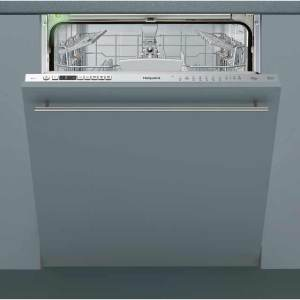 Hotpoint HIO3T232WGE Fully Integrated Standard Dishwasher - Stainless Steel Control Panel with Fixed Door Fixing Kit - A+++ Rated