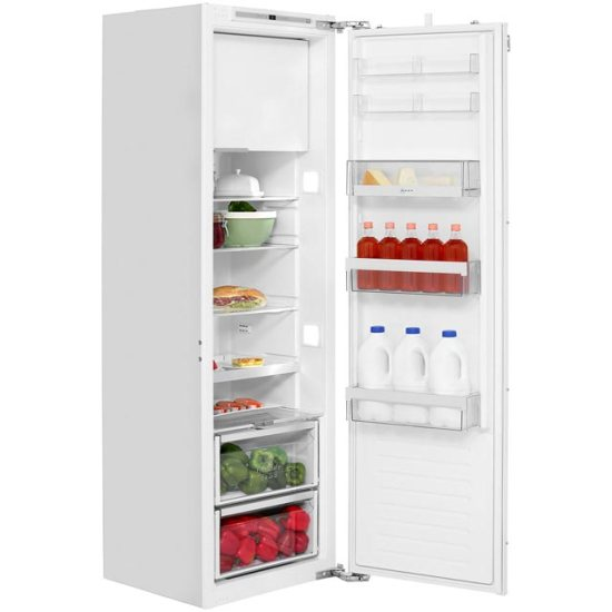 NEFF N70 KI2823F30G Integrated Upright Fridge with Ice Box - Fixed Door Fixing Kit - White - A++ Rated