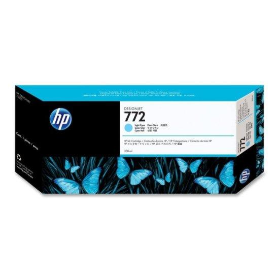HP 772 Light Cyan Original Ink Cartridge - Standard Yield 300ml - CN63