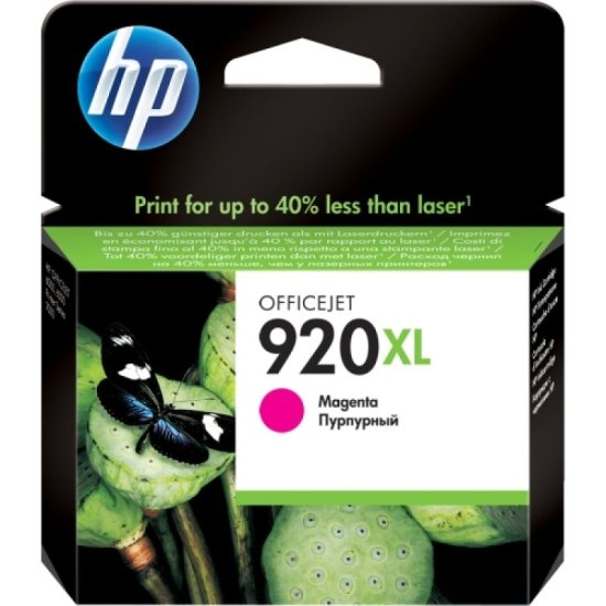 HP 920XL Magenta Ink Cartridge - CD973AE