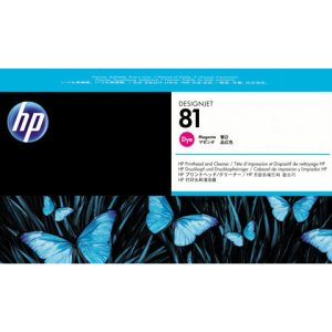 HP 81 Magenta Original Printhead & Printhead Cleaner For use with