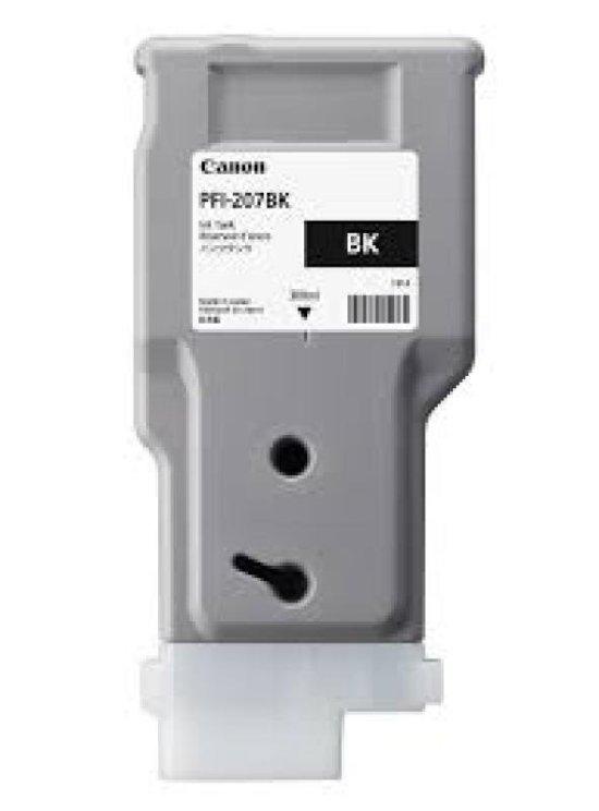 Canon PFI-207BK Black Ink Tank 300ml