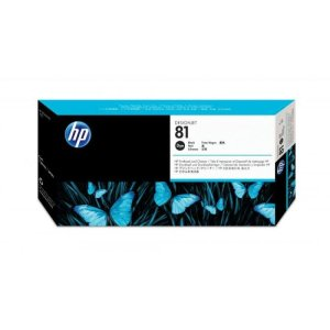 HP 81 Black Original Printhead & Printhead Cleaner For use with -