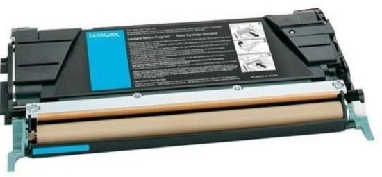 Lexmark Cyan Return Program Toner Cartridge (C522)