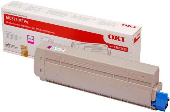 Oki MC873 Magenta Toner 10000 Pages