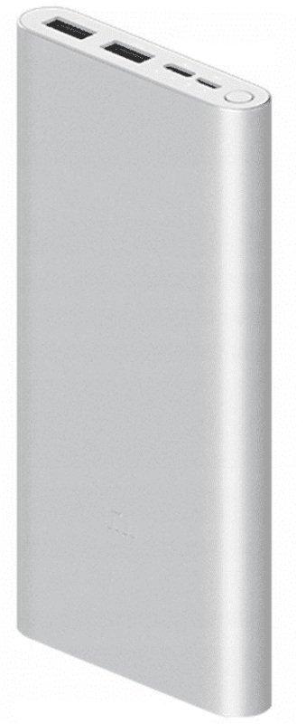 Xiaomi Mi 10,000mAh 18W Fast Charge Power Bank 3 - Silver