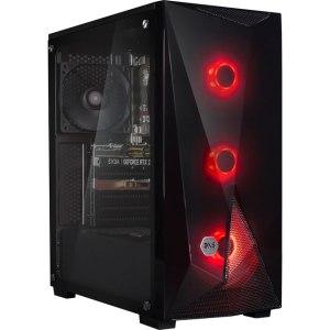 3XS Core 2060 Super Gaming Tower Gaming Desktop - 1TB SSD - Black