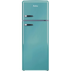 Amica FDR2213DB 70/30 Fridge Freezer - Duck Egg Blue - A+ Rated