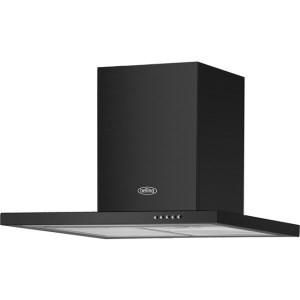 Belling BEL 60 BCH 60 cm Chimney Cooker Hood - Black - B Rated