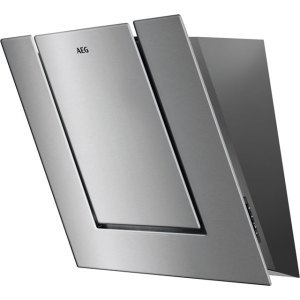 AEG DVB4550M 55 cm Angled Chimney Cooker Hood - Stainless Steel - B Rated