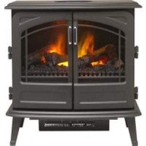 Dimplex Fortrose FOR20 Log Effect Electric Stove - Graphite AO SALE