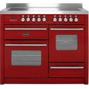 Britannia Delphi RC-11XGI-DE-RED 110cm Electric Range Cooker with Induction Hob - Red - A/A Rated   AO SALE