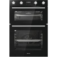 Hisense BID95211BGUK Built In Electric Double Oven - Black - A/A Rated AO SALE