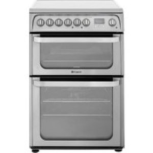 Hotpoint Ultima HUI611X 60cm Electric Cooker with Induction Hob - Stainless Steel - A/A Rated AO SALE