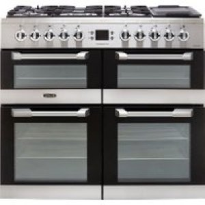 Leisure Cuisinemaster CS100F520X 100cm Dual Fuel Range Cooker - Stainless Steel - A/A/A Rated   AO SALE