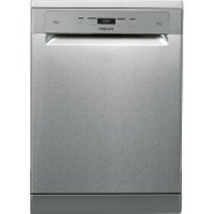 Hotpoint HFC3T232WFGXUK Standard Dishwasher - Stainless Steel - A+++ Rated   AO SALE
