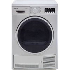 Electra TDC9112S 9Kg Condenser Tumble Dryer - Silver - B Rated AO SALE
