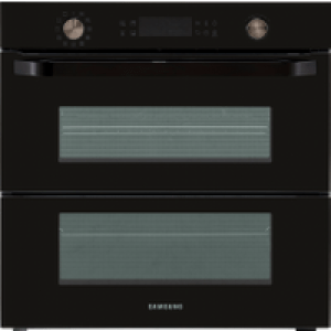 Samsung Prezio Dual Cook Flex NV75N5641RB Built In Electric Single Oven - Black Glass - A+ Rated AO SALE